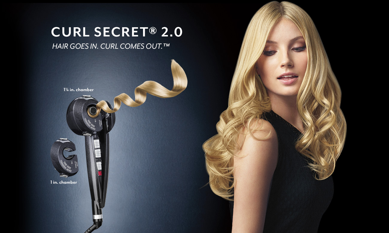 infinitipro by conair curl secret hair curling tool. Black Bedroom Furniture Sets. Home Design Ideas